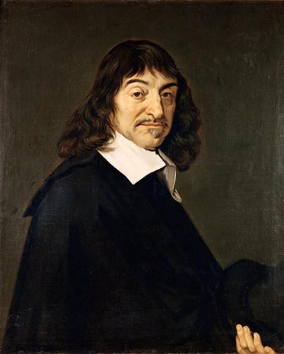 René Descartes, grande nome da filosofia e matemática da Idade Moderna.