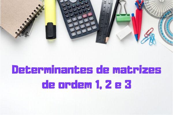 O cálculo de determinante possui diversas aplicações nos diferentes campos da matemática