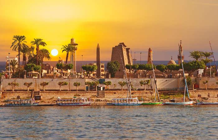 O Egito ultrapassou a África do Sul, e é atualmente a segunda maior economia da África.