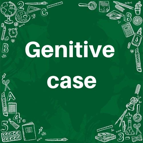 O caso genitivo em inglês é utilizado para mostrar que alguém possui algo.