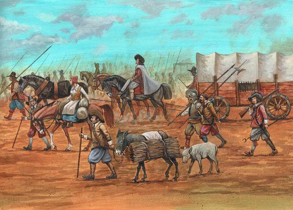 Maurício de Nassau chegou a participar de campanhas militares na Guerra dos Trinta Anos e na Guerra dos Oitenta Anos, por exemplo.