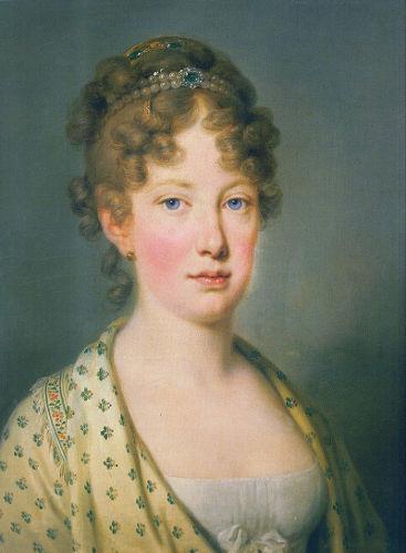 Maria Leopoldina nasceu na Áustria e casou-se com d. Pedro por procuração, em 1817. [1]