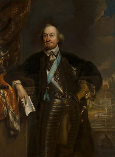 Maurício de Nassau já em idade avançada na década de 1670.