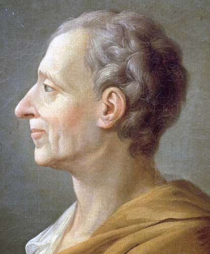 Charles de Montesquieu, um dos filósofos iluministas franceses. [2]