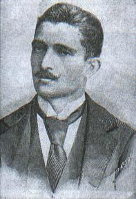 """Adolfo Caminha, autor de """"Bom-crioulo""""."""