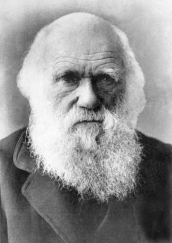 O cientista Charles Darwin.