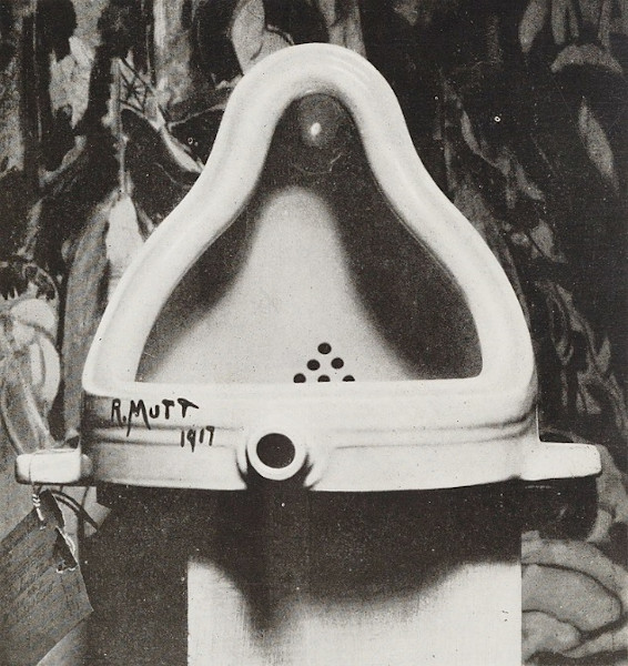 """Fonte"" (1917), obra de Marcel Duchamp."
