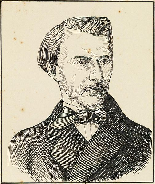 Gonçalves de Magalhães, o introdutor do Romantismo no Brasil.
