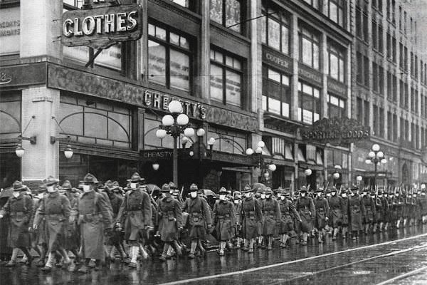 A Gripe Espanhola surgiu em março de 1918, acredita-se que ela afetou 1/3 da população mundial e causou a morte de 50 milhões de pessoas.