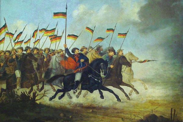 A Guerra dos Farrapos foi motivada pela insatisfação dos gaúchos com a centralização do poder no Império e a política fiscal da época. [1]