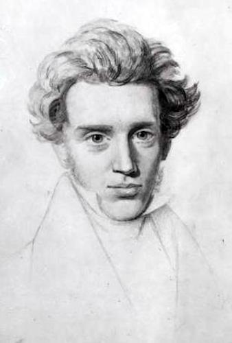 Søren Kierkegaard é visto como o precursor do existencialismo.