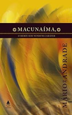 Capa do livro Macunaíma, de Mário de Andrade, da editora Nova Fronteira.[1]