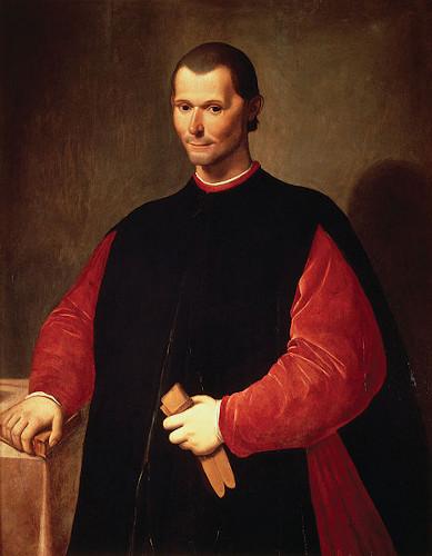 Maquiavel é o autor de O príncipe, livro em que orienta como os príncipes devem comportar-se para alcançarem prestígio.