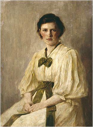 Marianne Schnitger Weber, intelectual alemã que foi casada com Weber.
