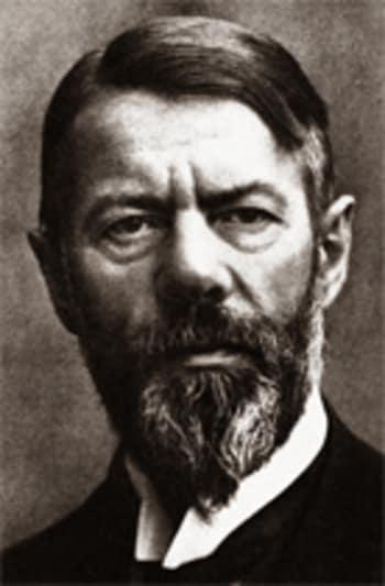 Max Weber, sociólogo clássico alemão.