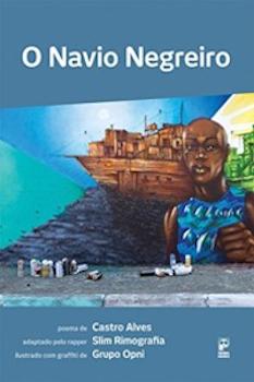 Capa do livro O navio negreiro, da editora Panda Books [1].