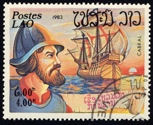 Pedro Álvares Cabral foi o responsável por liderar a expedição portuguesa que chegou ao Brasil no dia 22 de abril de 1500.