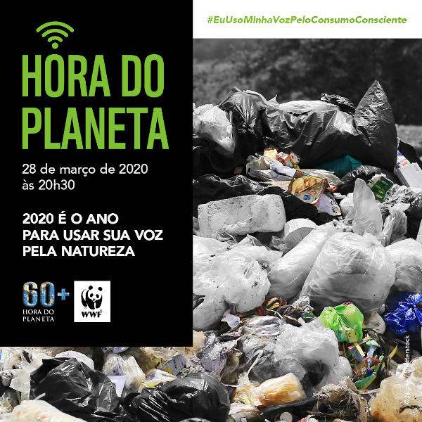 Use você também a sua voz para evitar práticas que prejudiquem o meio ambiente.