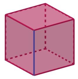 Arestas de um poliedro