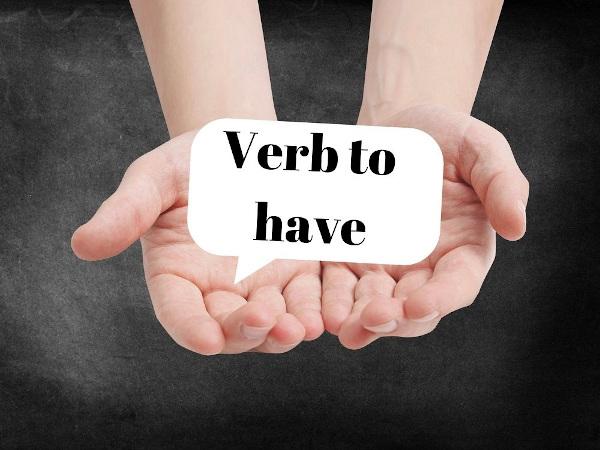 O verbo to have pode ser tanto um verbo comum quanto auxiliar.