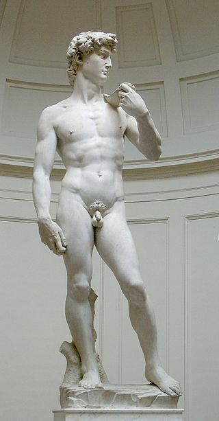 David, do escultor italiano Michelangelo. [5]