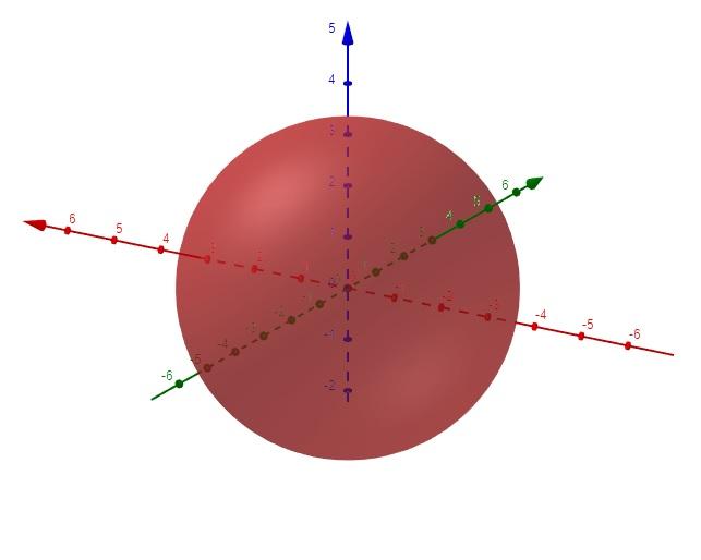 Esfera no espaço