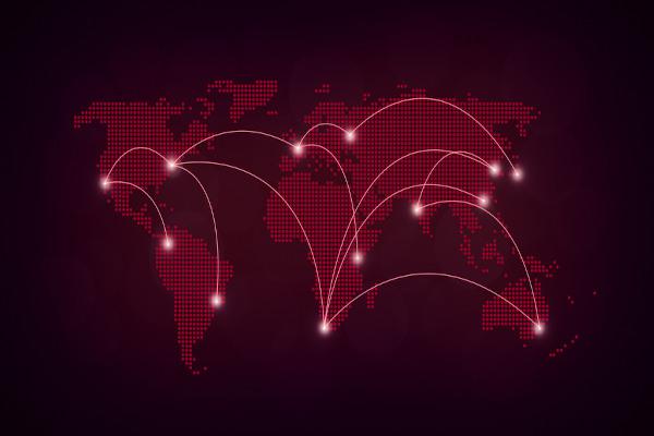 No mundo globalizado, as economias mundiais estão em constante comunicação.
