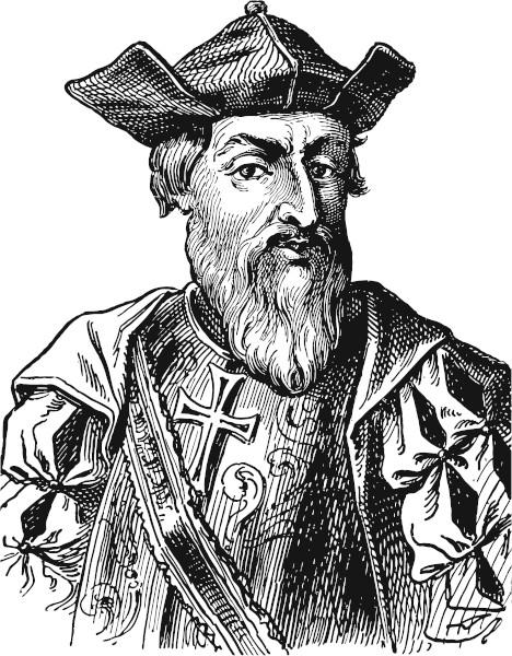 """Vasco da Gama (1469-1524), o herói de """"Os lusíadas"""", de Luís Vaz de Camões."""