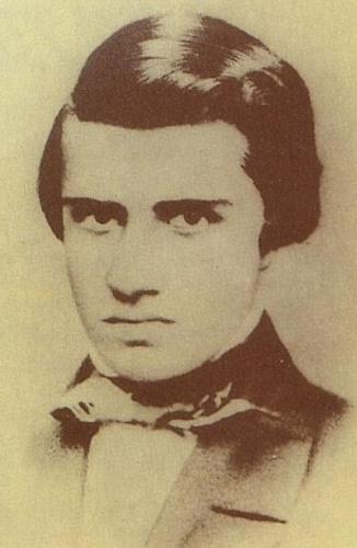 O escritor Álvares de Azevedo.