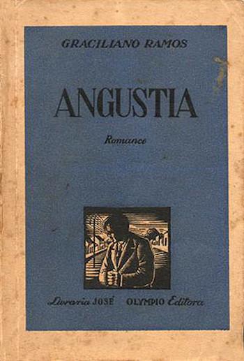 Capa da 1ª edição da obra que apresenta, em tom confessional, as angústias de um homem solitário.