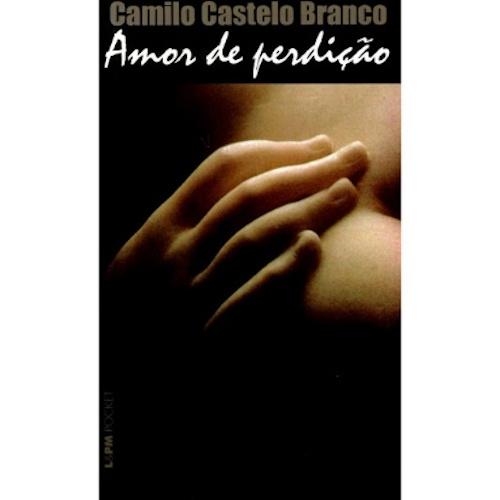 """Capa do livro """"Amor de perdição"""", de Camilo Castelo Branco, publicado pela editora L&PM. [1]"""