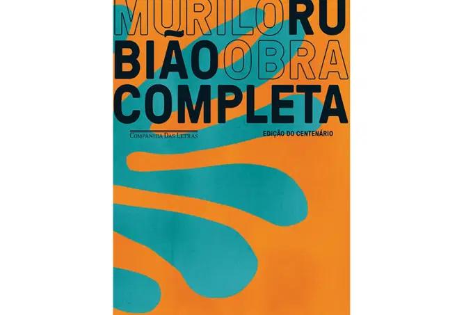 Capa da nova edição da obra completa de Murilo Rubião, lançada em comemoração a seu centenário. [1] (imagem principal)