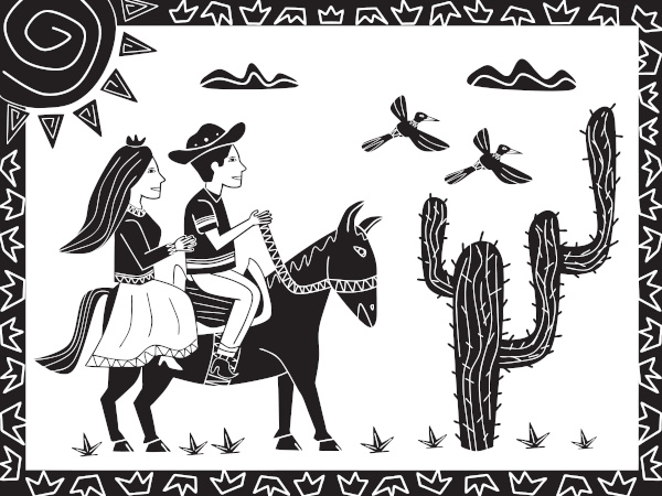 Fundador do Movimento Armorial, Ariano Suassuna acreditava na força da junção da arte erudita com a arte popular nordestina.