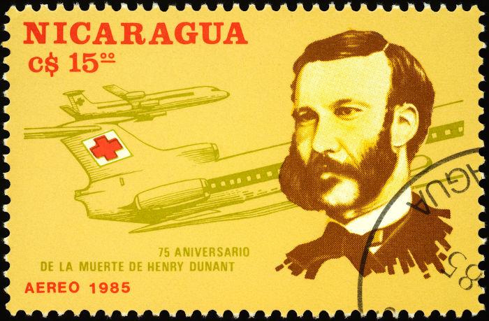 O relato que o suíço Henri Dunant fez sobre a Batalha de Solferino foi crucial para a fundação da Cruz Vermelha, em 1863.[1]