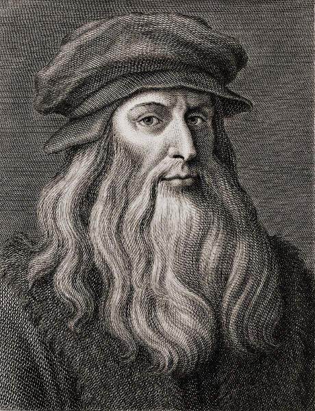Leonardo da Vinci (1452-1519), um dos principais intelectuais do Renascimento.