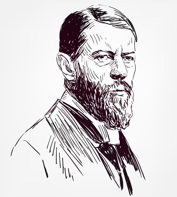 Max Weber formulou uma teoria do poder baseada na dominação.
