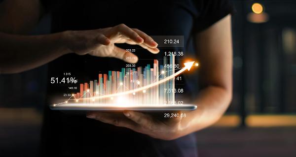 A média geométrica é utilizada no mercado financeiro.