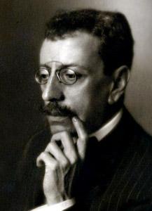 Olavo Bilac, um dos poetas mais famosos do Parnasianismo.