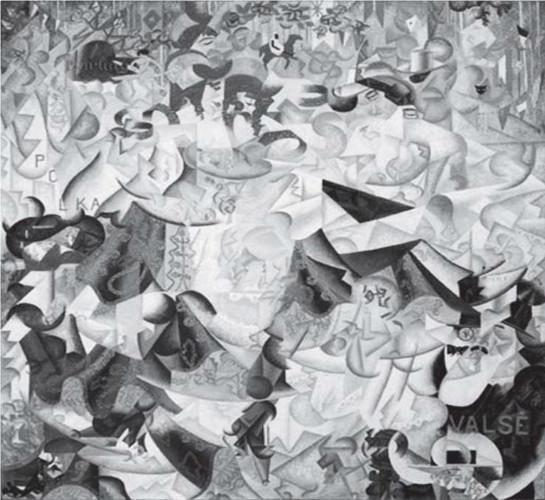 SEVERINI, G. A hieroglífica dinâmica do Bal Tabarin. Óleo sobre tela, 161,6 x 156,2 cm. Museu de Arte Moderna, Nova Iorque, 1912. Disponível em: www.moma.org. Acesso em: 18 maio 2013.
