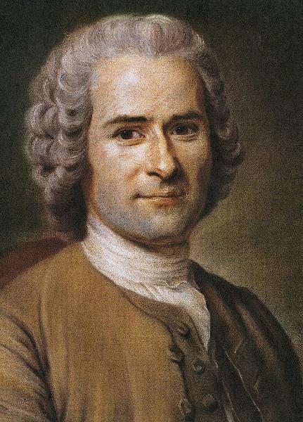 Jean-Jacques Rousseau, filósofo contratualista.