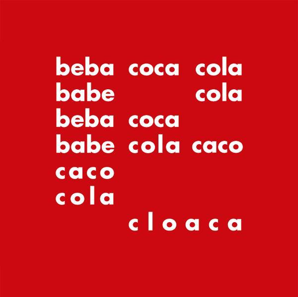 """Décio Pignatari: """"Beba Coca-Cola"""", 1957."""