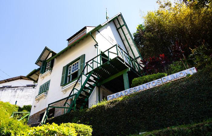 Casa construída por Santos Dumont em Petrópolis, no Rio de Janeiro.[3]