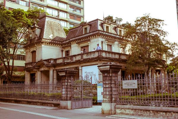 Casa das Rosas - Espaço Haroldo Campos de Poesia e Literatura, em São Paulo (SP).[1]