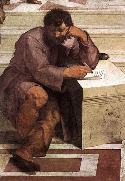 """Heráclito de Éfeso é considerado um dos """"pais"""" da dialética."""