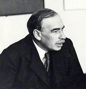 John Maynard Keynes, economista britânico e autor da teoria econômica que fundamentaria o Estado de bem-estar social.