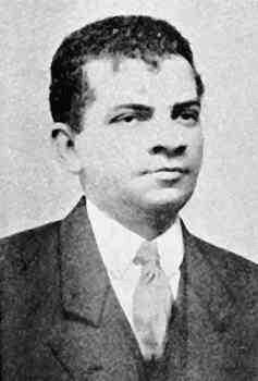 Retrato de Lima Barreto, um dos nomes centrais da literatura brasileira no período pré-modernista.