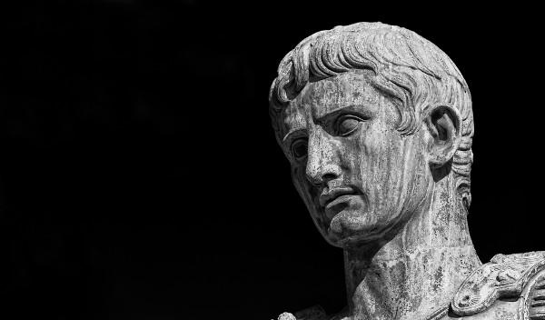 Otávio Augusto, primeiro imperador de Roma.