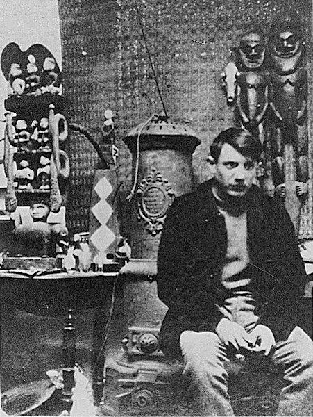 Pablo Picasso, em 1908.