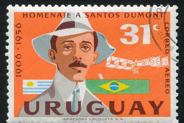 Alberto Santos Dumont foi um dos maiores cientistas do Brasil e realizou importantes estudos na aviação.[1]