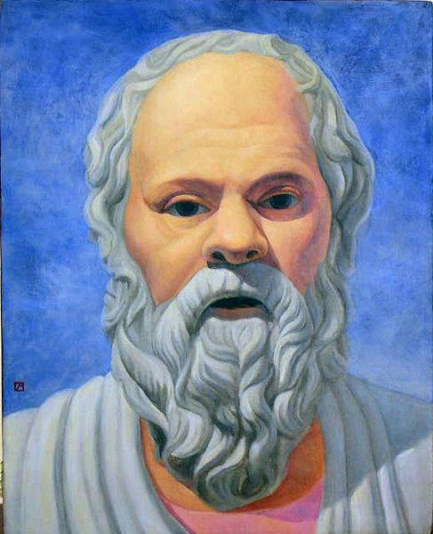 Sócrates é considerado um filósofo da dialética.